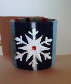 кутия - полар и декоративни снежинки