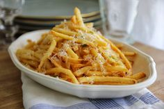 """Homemade"" Truffle Fries          For the dinner party  we had last weekend, I served these Baked Truffle Parmesan Fries wit..."
