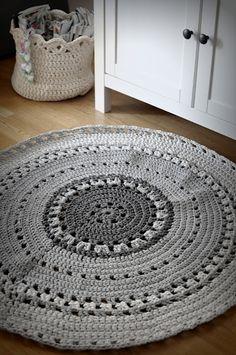 Crochet rug!. Tutorial~