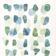 The only thing better than finding sea glass at the beach is finding a sweet print of it to hang on the wall in my house!