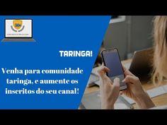 venha para comunidade taringa, e aumente os inscritos do seu canal - YouTube Marketing, Youtube, Make Money On Internet, Community, Youtubers, Youtube Movies