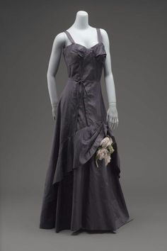 Dress, Gilbert Adrian, 1941, The Museum of Fine Arts, Boston