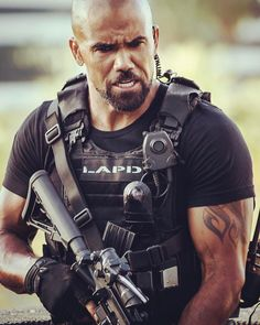 "77.2k Likes, 789 Comments - Shemar Moore (@shemarfmoore) on Instagram: ""HONDO!!!!..... Beast Mode!!! Two weeks of shooting SWAT.... done.... One more week to go..... This…"""
