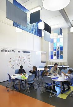 Primary #School Design, London, #Colorful, #Interior