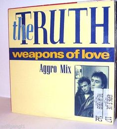 Truth, The  - Weapons Of Love CANADA MINT PROMO-STAMP
