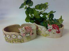 Piditruhlíček Maličký obal na 2 květináčky 18 x 6.5 cm + kočička cena za jeden truhlíček