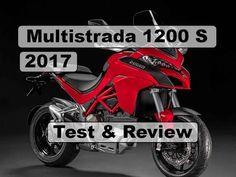 The Best Adventure Motorcycles - Ducati 1200 Multistrada 2017 - Test & R. Ducati Multistrada 1200 S, New Ducati, Motorcycles, Adventure, Motorbikes, Biking, Motorcycle, Adventure Nursery, Engine