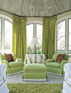 is it crazy that i absolutely adore those giraffe print curtains? i wonder if they come in different colors....