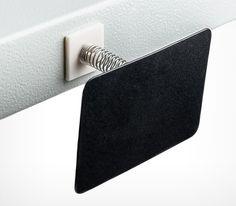 Меловой ценник, черная табличка формата А6
