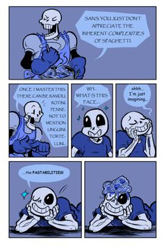 Sans and Papyrus comic
