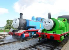 """""""Day Out with Thomas"""" at the Strasburg Railroad (near Lancaster).  So perfect for little fans obsessed with Thomas."""