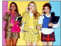 nhưngc chiếc váy ngắn với họa tiết tartan hay da báo  là một trong những trends phổ biến nhất thập niên 90s ,