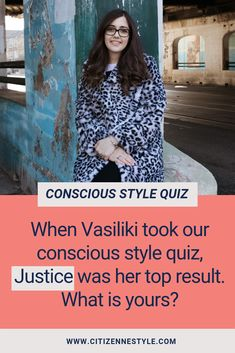 Want to look good, feel good, and do good with your wardrobe? Take the free quiz and unlock your conscious style! Sustainable Style, Sustainable Fashion, Wardrobe Planner, Slow Fashion, Feel Good, That Look, Free, Inspiration, Biblical Inspiration