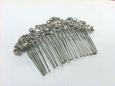 Bride Bridesmaid Elegant Side Rhinestone Hair Comb by DesignSK DesignSK,http://www.amazon.com/dp/B008ALQUAA/ref=cm_sw_r_pi_dp_Sv22rb03H3SFJ988