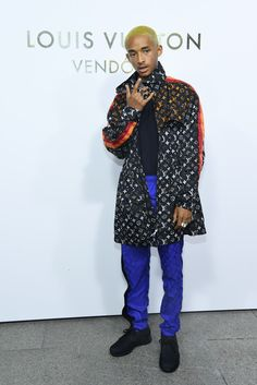 New Trending Celebrity Looks: Jaden Smith LVs it up for the Louis Vuitton Boutique Opening in Paris. We will not spend time defending Jaden's goofy facial expression and pretentious posing. We know there will be plenty of people willing to do that for us, bless their hearts. Instead, we'll focus on our raging jealousy. Why are we jealous? Well, first, because he's going to...