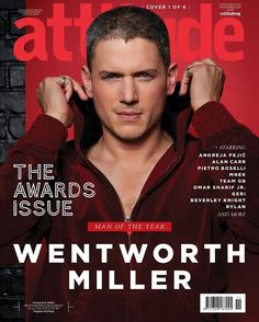 Attitude's Man of Year, supported by Virgin Holidays: Wentworth Miller Michael Scofield, Omar Sharif Jr, Lincoln Burrows, Wentworth Miller Prison Break, Virgin Holidays, Me Ignore, Alan Carr, Dc Comics, Leonard Snart