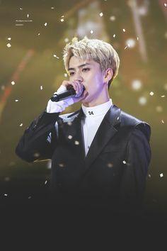 Sehun - 161101 SBS Power FM 20th Anniversary Concert Credit: Beat Per Minute. (SBS 파워FM 20주년 콘서트)