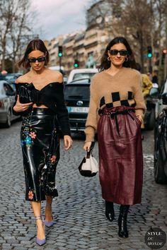 Paris FW 2020 Street Style: Gilda Ambrosio, Giorgia et Giulia Tordini 2020 Fashion Trends, Fashion 2020, Paris Fashion, Fall Fashion, Fashion Weeks, Street Style Chic, Mode Ootd, Elegantes Outfit, Black Women Fashion