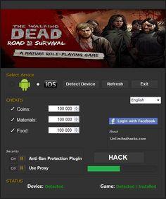The Walking Dead Road to Survival Hack Cheats http://modhacks.com/the-walking-dead-road-to-survival-hack-cheats/