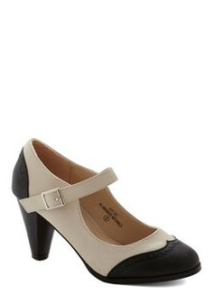 Career Fairest Heel, #ModCloth finally pulled the trigger! bought these to go with my Gatsby dress <3