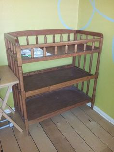 DIY: Humdrum Changing Table to Chic Storage Unit quickanddirtytips.com