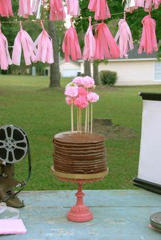 Blue Eyed Yonder Sparkly 13th Outdoor Movie Party | Vintage Event Rentals ~ Atlanta, Georgia