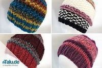 de - Would you like to knit a hat for your little ones? Our free guide plus size chart will help you. Knitting can be so easy. Baby Boy Knitting Patterns, Free Knitting, Baby Knitting, Hat Patterns, Knitted Hats Kids, Kids Hats, Crochet Hats, Shawls And Wraps, Knitting Projects