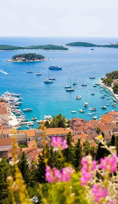 Croatia favourites, view Hvar city from the spectacular Spanish fortress...