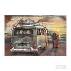 VW Bus - 3D Schilderij