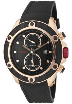 Price:$199.00 #watches Red Line 10114, Showcasing a smart blend of contemporary and classical styles, this Red Line timepiece is a handsome addition to any man's wardrobe.