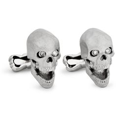 I've never wanted cuff links so much! Ralph Lauren white gold,diamond skull cuff links on clearance for $5000 (almost 1/2 off)