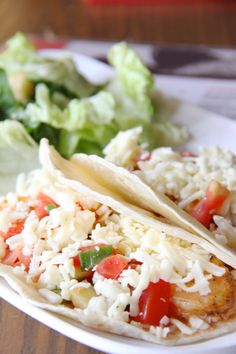 Already dreaming of summer meals like these drunken shrimp tacos | via @30aeats