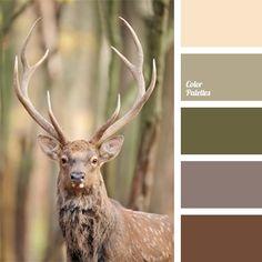 brown marsh color, b