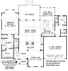 house plan 10 / Auburn House Plan # 05127, 1st Floor Plan, Victorian Style House Plans