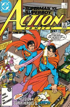Action Comics (#591) - cover by John Byrne