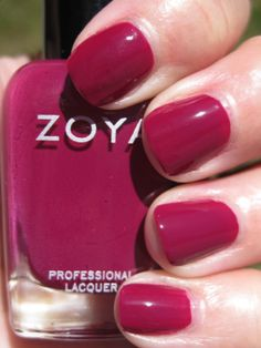 Zoya Ciara In different light this looks more purple. So challenging to know what it really looks like in person.