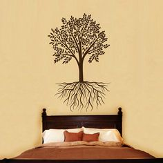 Tree with Roots Wall Decals  Wall Vinyl Decal  by BestDecals, $17.99