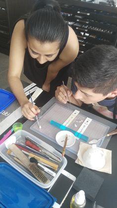 #ClasesdeJoyería con la #TecnicaMetalClay en #México #Plataenplastilina #CursosdeJoyería