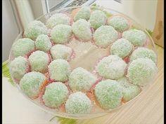 Klepon, recept voor zoete kleefrijst balletjes met gula jawa