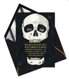Fun #halloween #invitation by Paperless Post! #stationery