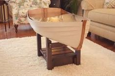 Beautiful Boat Coffee Table Living Room Boat Coffee Table - Coffee tables serve a range of uses. Lake Cabins, Modern Coffee Tables, White Wood, Rustic Wood, Wood Projects, The Row, Dining Table, Boat, Living Room
