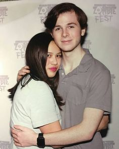 Chandler and fans @chandlerriggs5 #chandlerriggs #fans #newphoto #zombiefest