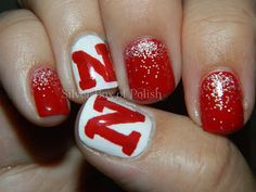 bc every girl should rock Husker nails!