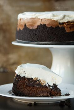 Mile High Mississippi Mud Pie - Life Made Simple