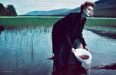 Frida Gustavsson - Love is a Letter Sent a Thousand Times - Scandinavia S/S/A/W, 2014 Boe Marion www.boemarion.com via scandinaviassaw.com  for #composition
