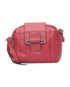 Leather Dina Tab Crossbody