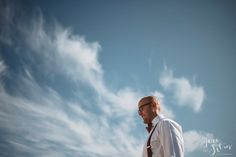 Groom | Sky | Clouds | Weddings | Wedding Photography | Jere Satamo