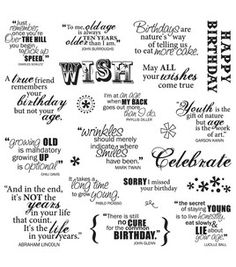 Fiskars Quotes Clear Stamps - Make A Wish & scrapbooking at Joann.com