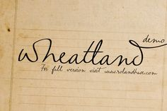 Wheatland is a handwriting interpretation free font which is good to give anatural and personal feelings to your sign. It …