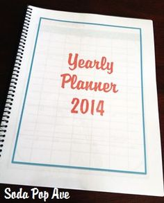 2014 Yearly Planner Download